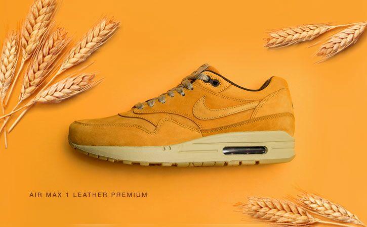 zapatillas nike air max 1 premium wheat